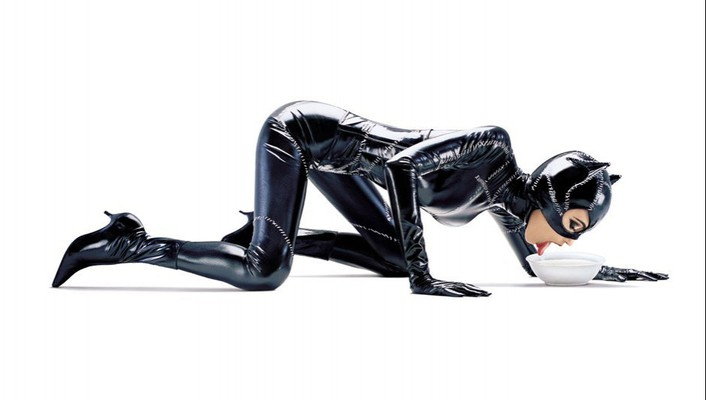 Women cats catwoman wallpaper