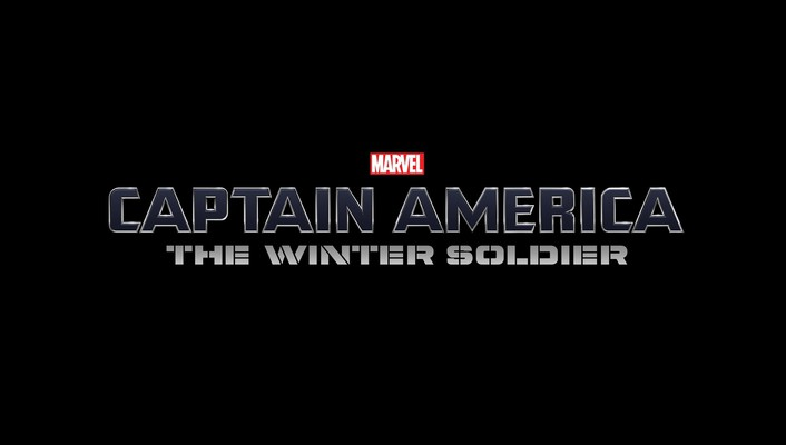 Winter soldier marvel comics black background logos wallpaper