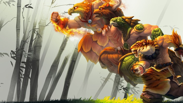 League of legends udyr wallpaper