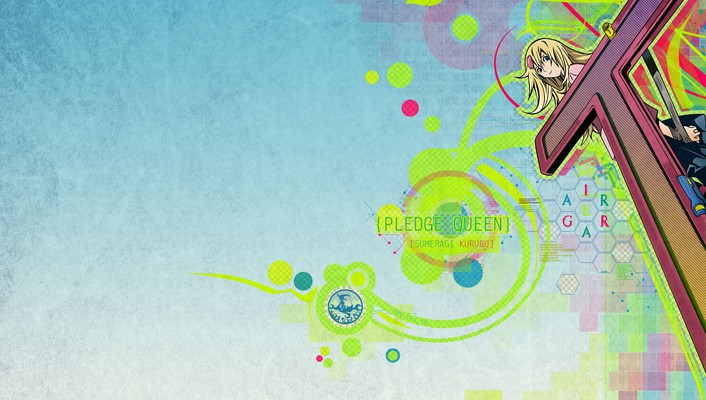 Queen blondes vectors wallpaper