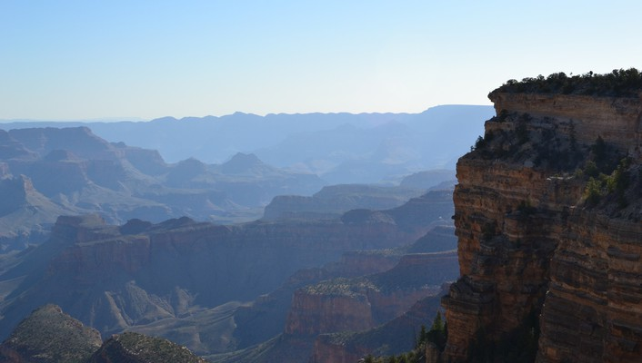 Grand canyon mountains nature wallpaper