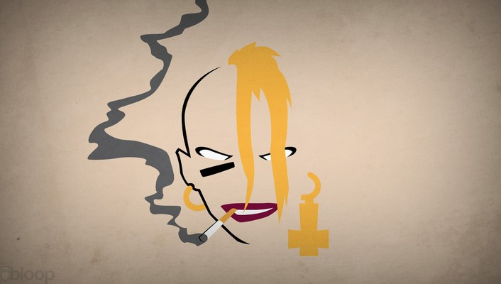 Superheroes tank girl cigarettes blo0p wallpaper