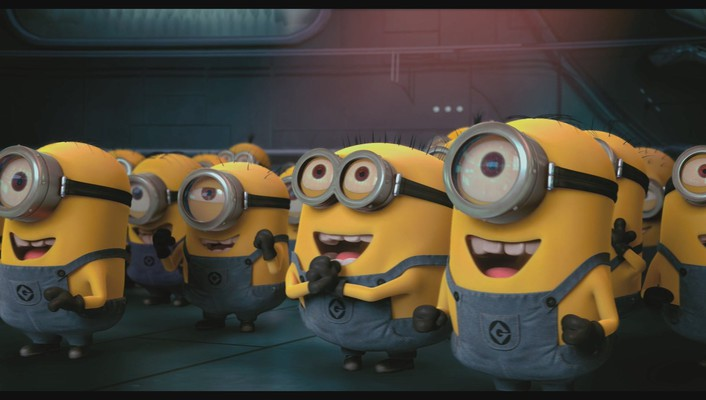 Despicable me animation minions wallpaper