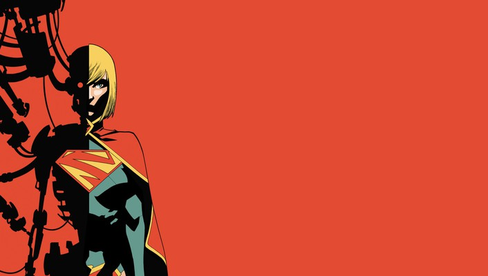 Dc comics supergirl wallpaper
