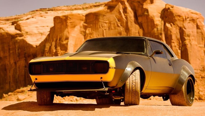 Retro bumblebee transformers 4 wallpaper