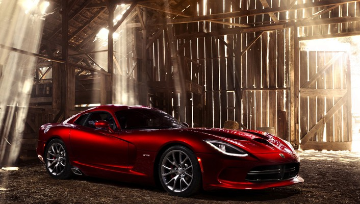 Dodge red cars static viper wallpaper