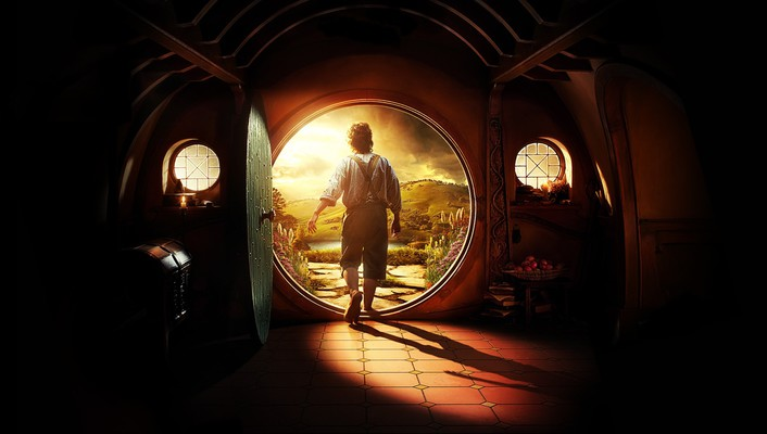 Martin freeman the hobbit journey movies wallpaper