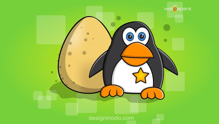Cartoons pinguin wallpaper