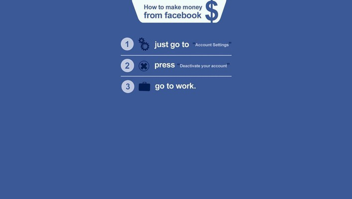 Work facebook money wallpaper