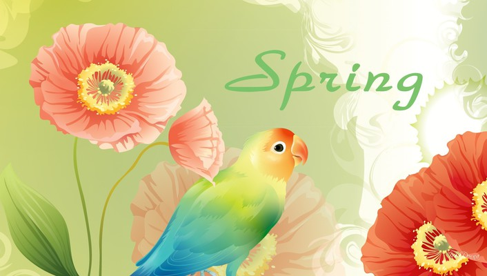 Spring so fine wallpaper