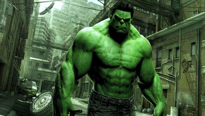 Green marvel comics hulk wallpaper