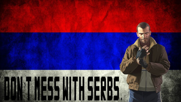 Serbia niko bellic grand theft auto iv wallpaper
