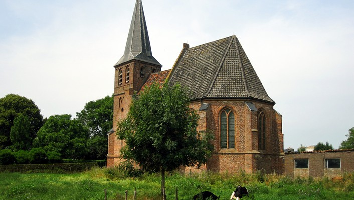 Church in persingen wallpaper