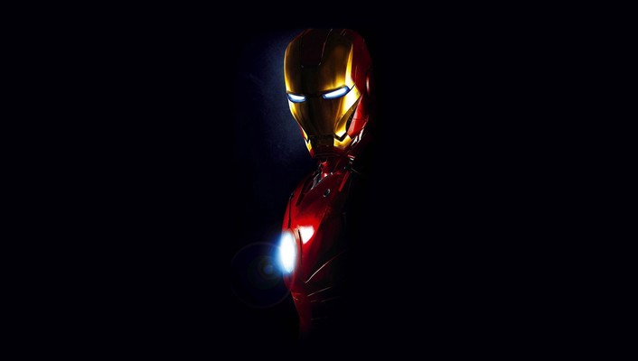 Iron man 2 black background movies wallpaper