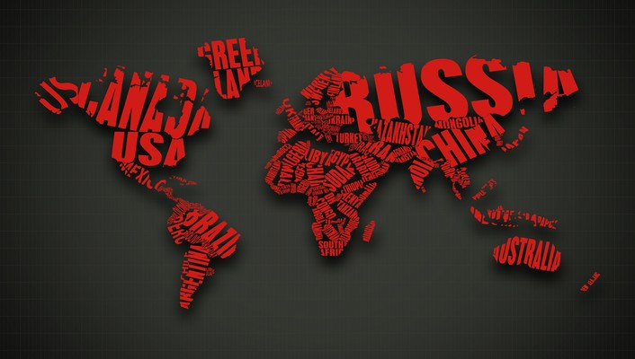 Maps red wallpaper