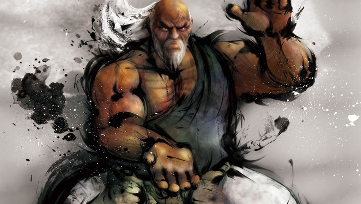 Video games street fighter animation wallpaper