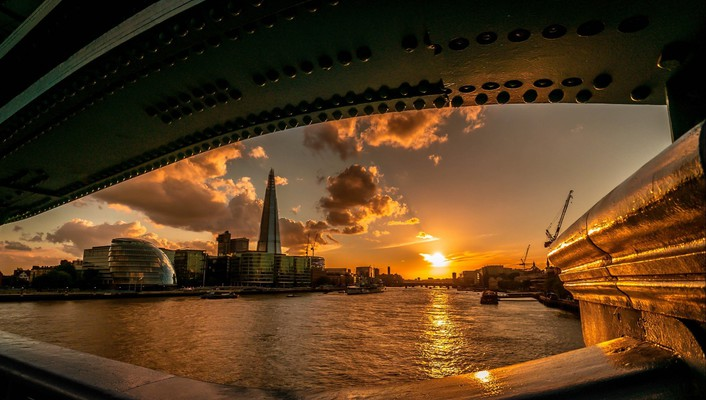 Sunset cityscapes london cities wallpaper