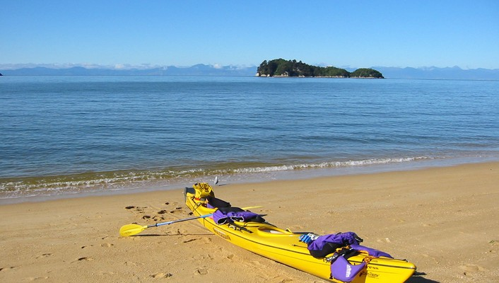 Abel Beaches Kayak Landscapes Sea Wallpaper