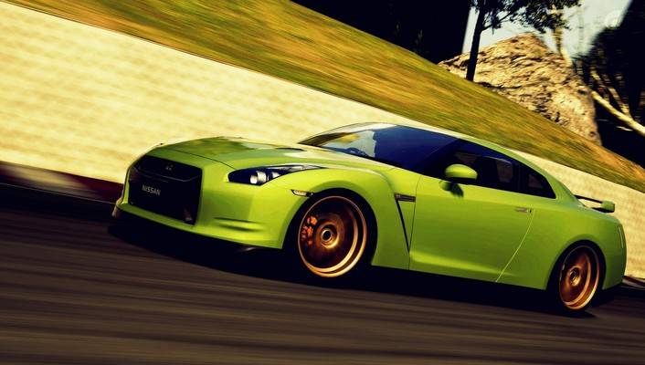 Turismo 5 races playstation 3 gtr speed wallpaper