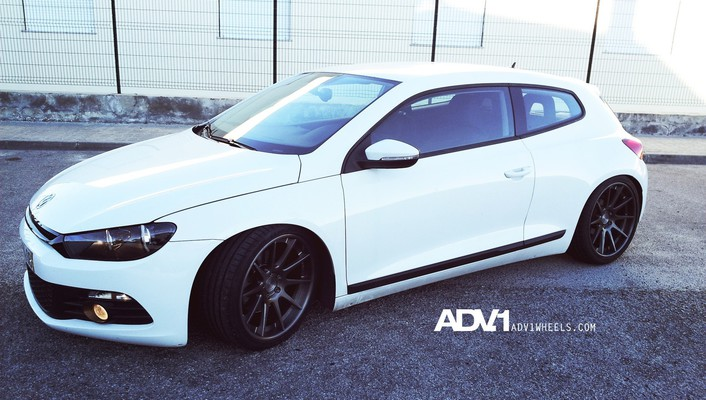 Adv1 volkswagen scirocco wheels cars wallpaper