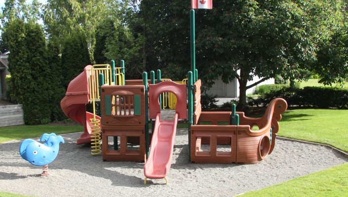 A playing ground wallpaper