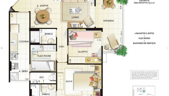 Floor plans wallpaper