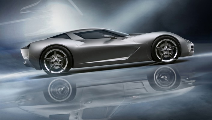Chevrolet concept cars stingray vehicles wallpaper