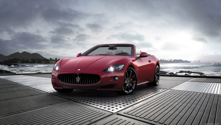 Maserati grancabrio cars vehicles wallpaper