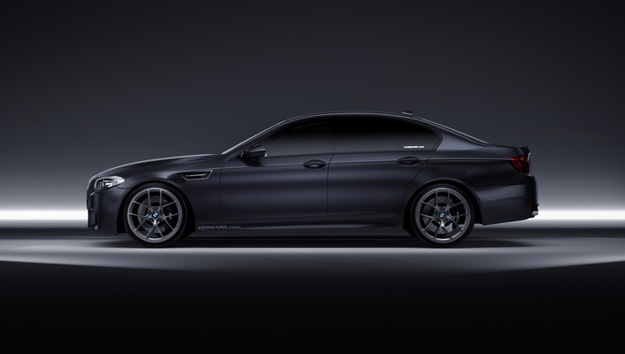 Concept art gradient bmw m5 3d f10 wallpaper
