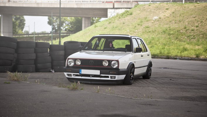 Golf volkswagen ii vr6 wallpaper