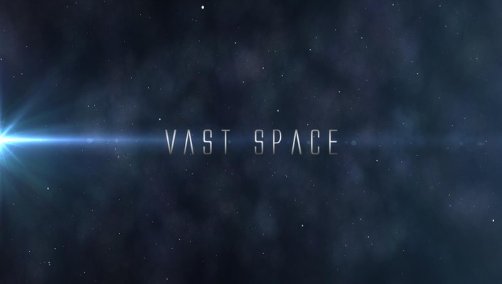 Abstract outer space text wallpaper