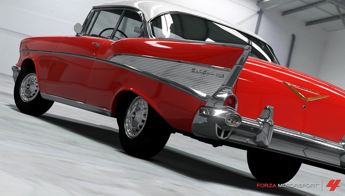 360 chevrolet bel air forza motorsport 4 wallpaper