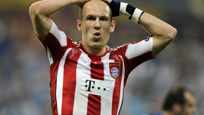 Arjen robben fc bayern munich soccer sports wallpaper