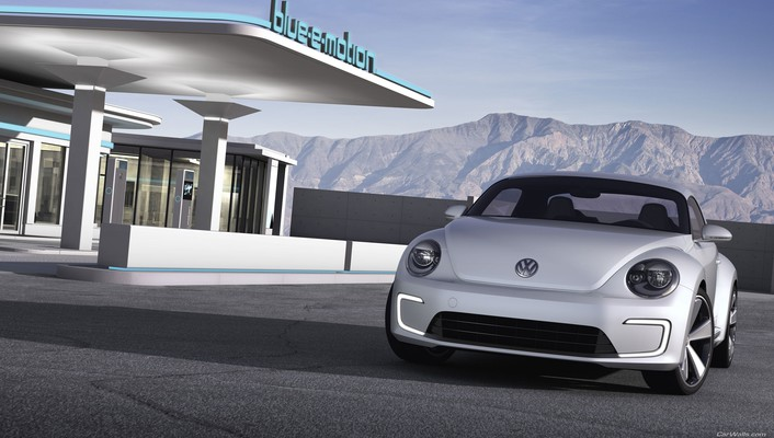 Volkswagen concept art wallpaper