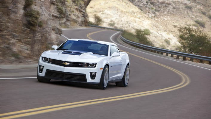 Cars chevrolet roads wallpaper