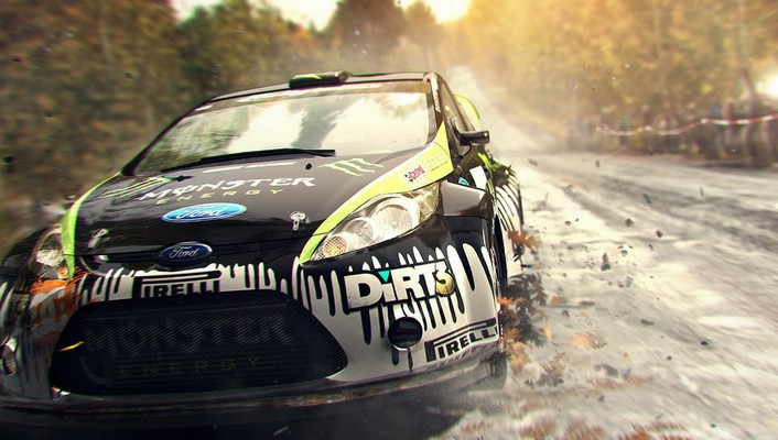 Colin mcrae dirt 3 games video wallpaper