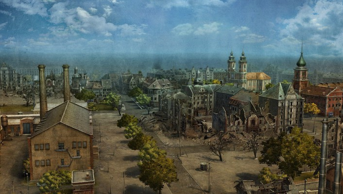 Europe world of tanks cityscapes wallpaper