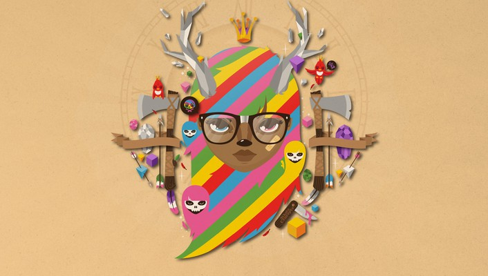 Brown disco artwork jthree concepts jared nickerson wallpaper