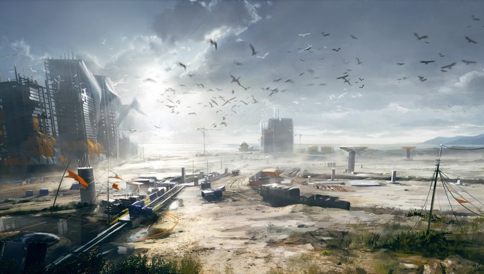 Battlefield 4 concept art wallpaper