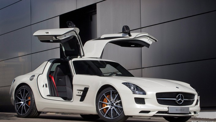 Cars mercedes-benz sls amg e-cell wallpaper