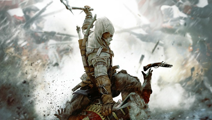 Video games wall assasins creed wallpaper