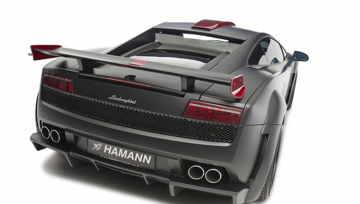 Hamann victory ii lamborghini gallardo cars rear view wallpaper