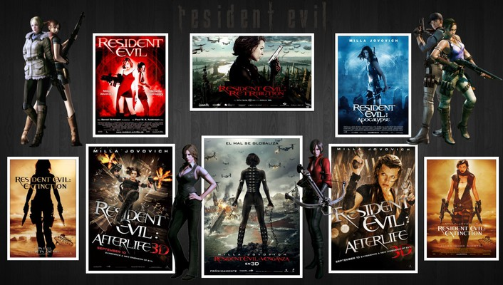Video games computers resident evil alice entertainment consoles wallpaper