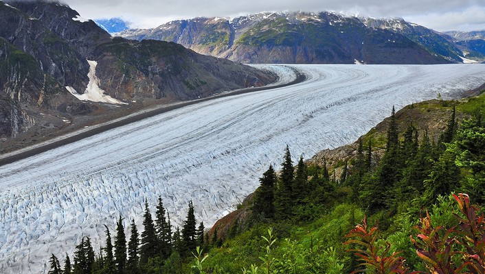 Nature glacier british columbia salmon wallpaper