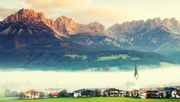 Austria attractions mountains tyrol wallpaper