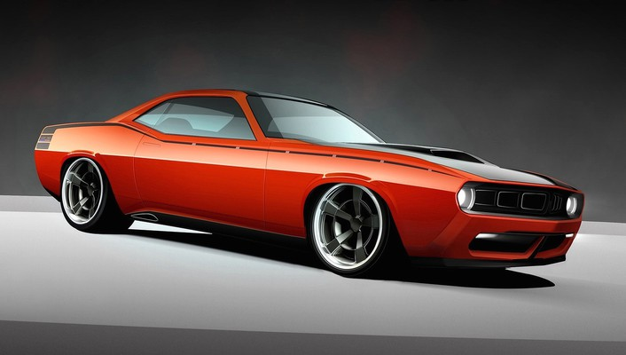 Usa plymouth barracuda classic 2010 widescreen cuda wallpaper