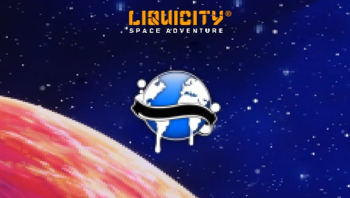 Drum and bass liquicity outer space pixelated wallpaper