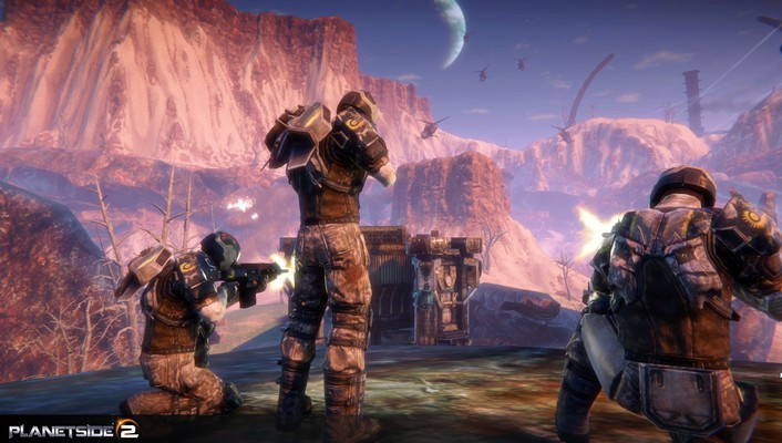 Soldiers video games planetside 2 wallpaper