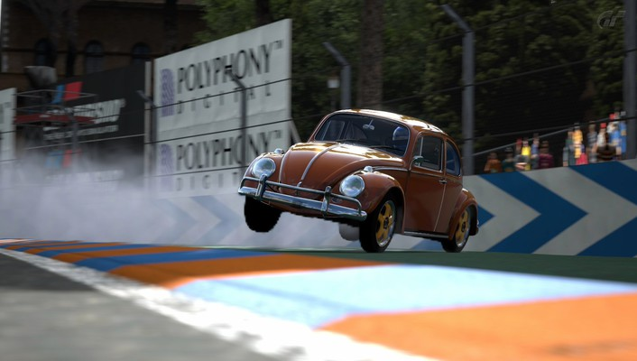 Playstation 3 volkswagen beetle cars video games wallpaper
