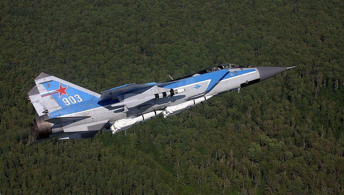 Aircraft mig-31 foxhound mikoyan-gurevich russian air force wallpaper